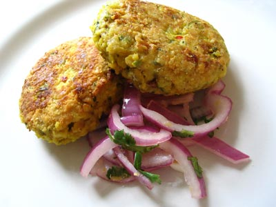 Spicy Chickpea Burgers Recipe - 5 points