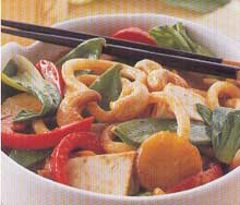 Weight Watchers Recipe: Tofu noodle stir-fry