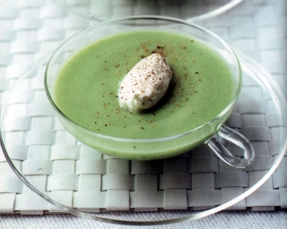 Weight Watchers Recipes:  Cold Avocado Soup