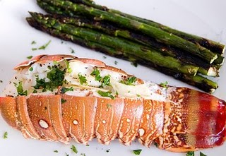 Weight Watchers Recipes: Grilled lobster