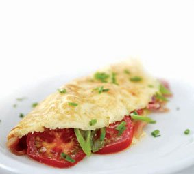 Weight Watchers Recipe: Prawn and Cheese Omelette
