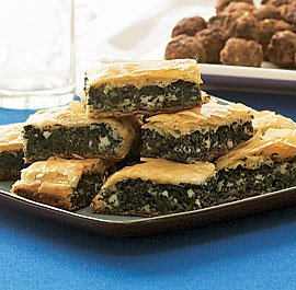 Weight Watchers Recipe: Spinach and leek pie